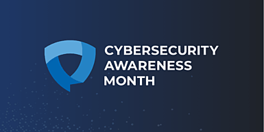 October is cybersecurity awareness month. Follow our guide to keep your data and information safe.